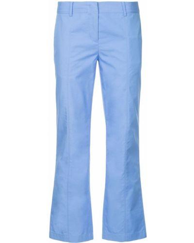 Укороченные брюки - синие Ck Calvin Klein
