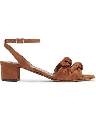 Sandały zamszowe Tabitha Simmons