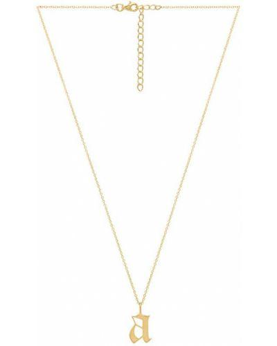 Złota zawieszka The M Jewelers Ny