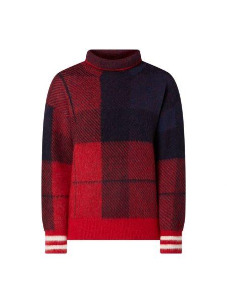 Bawełna sweter z kołnierzem z alpaki Tommy Hilfiger