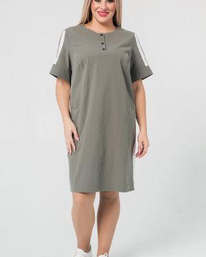 Платье мини платье-сарафан из вискозы Luxury