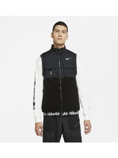 Kamizelka pikowana na rzepy Nike