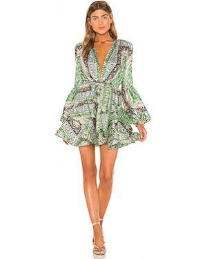 Платье на пуговицах с манжетами Bronx And Banco