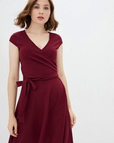 Красное платье с запахом Florens