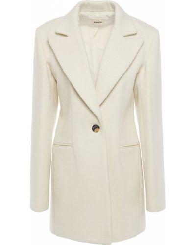 Шерстяной пиджак с карманами на кнопках Khaite