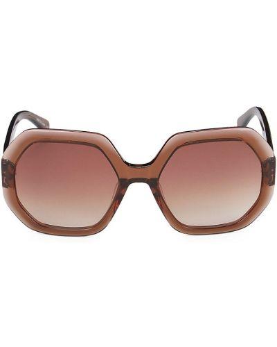 Солнцезащитные очки - коричневые Longchamp