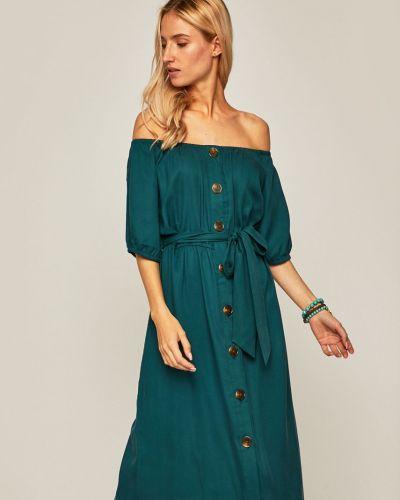 Платье с поясом с открытыми плечами в полоску Medicine