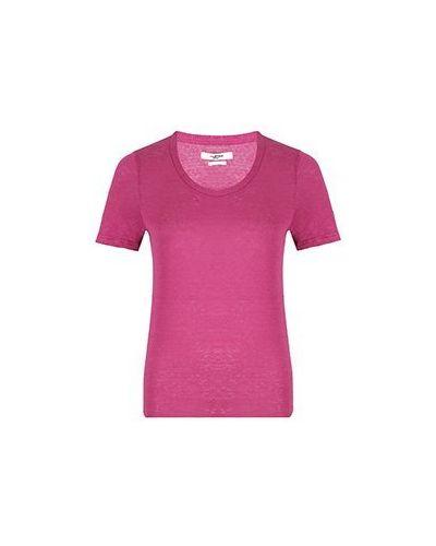 Футболка - розовая Isabel Marant Étoile