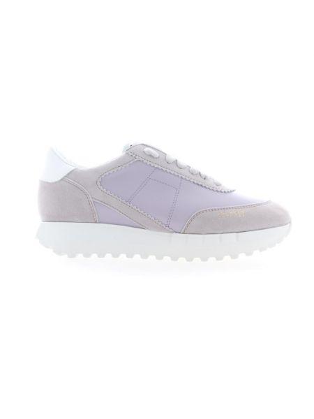 Fioletowe sneakersy Stokton