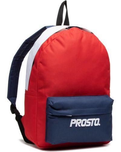 Czerwony plecak Prosto.