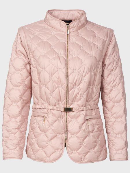 Куртка с поясом - розовая Luisa Spagnoli