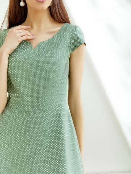 Платье - хаки Vovk