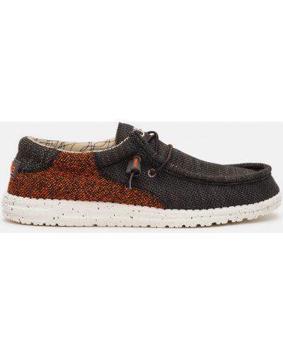 Повседневные туфли - коричневые Hey Dude