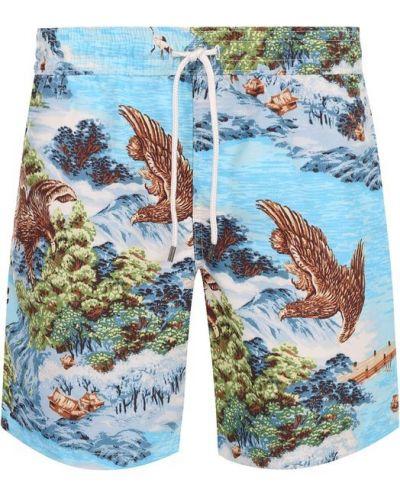 Синие плавки-шорты Polo Ralph Lauren