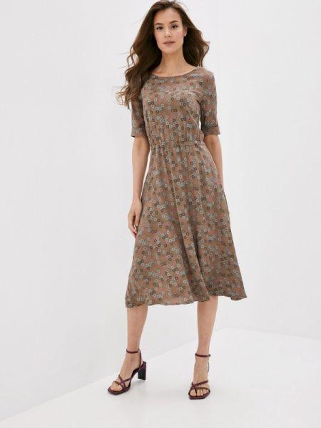 Коричневое платье Po Pogode