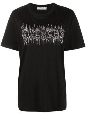 Bawełna czarny koszula krótkie rękawy Givenchy