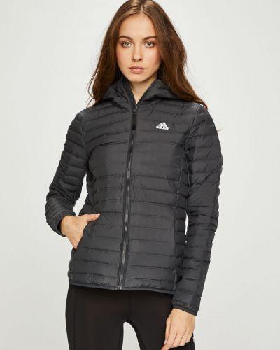 Стеганая куртка утепленная с капюшоном Adidas Performance