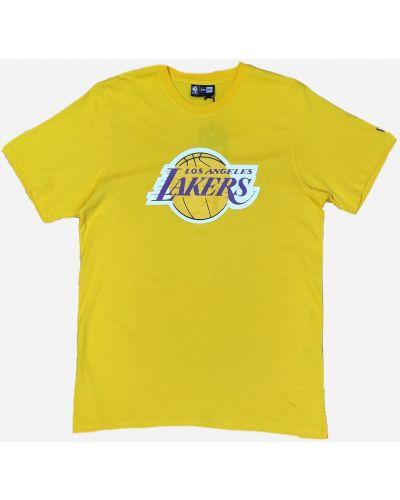 Спортивная футболка - желтая New Era