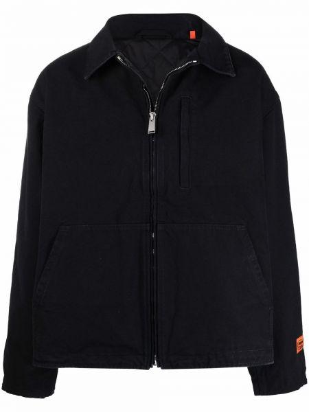 Klasyczna koszula - czarna Heron Preston