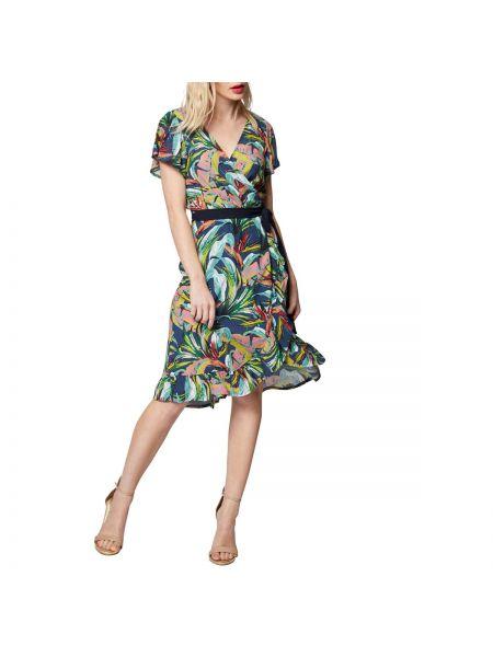 Платье мини миди с запахом Morgan