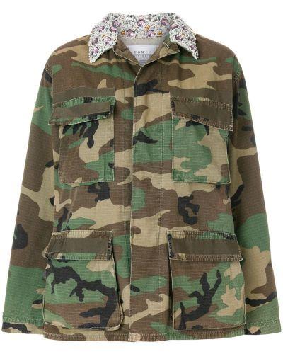 Куртка милитари камуфляжная Forte Couture