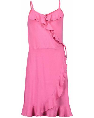Платье однотонное розовый Blue Seven