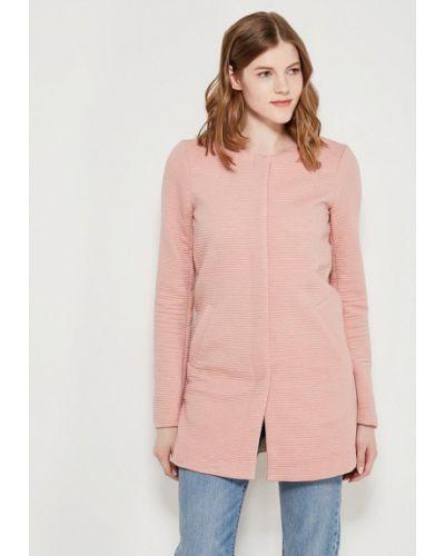 Розовое пальто Only
