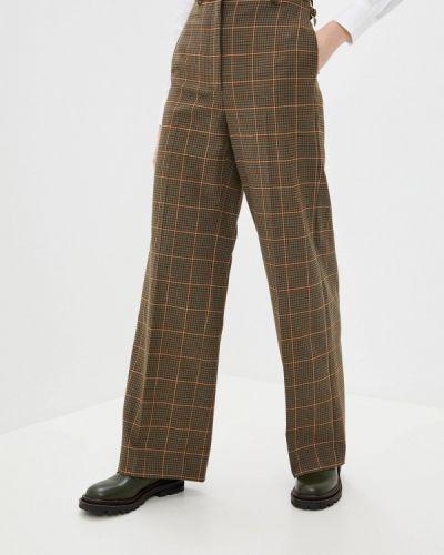 Повседневные коричневые брюки Paul & Joe