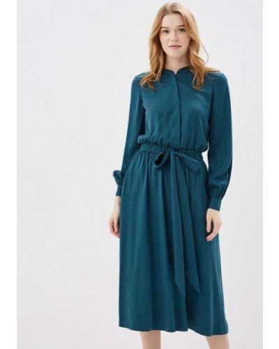 Зеленое платье с длинными рукавами Akhmadullina Dreams