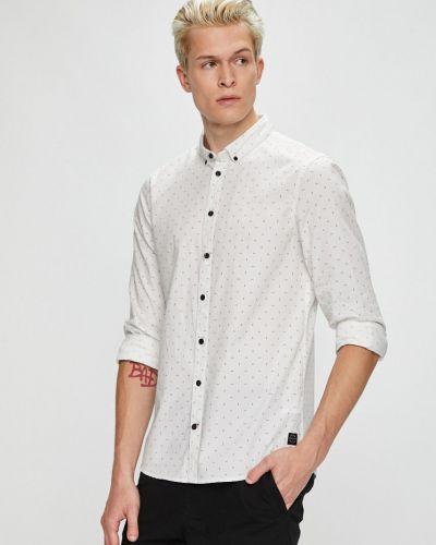 Рубашка с длинным рукавом хлопковая с узором Blend