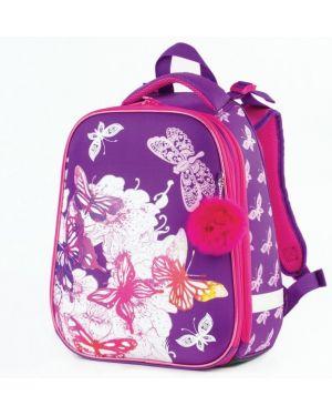 Рюкзак фиолетовый пластиковый Brauberg