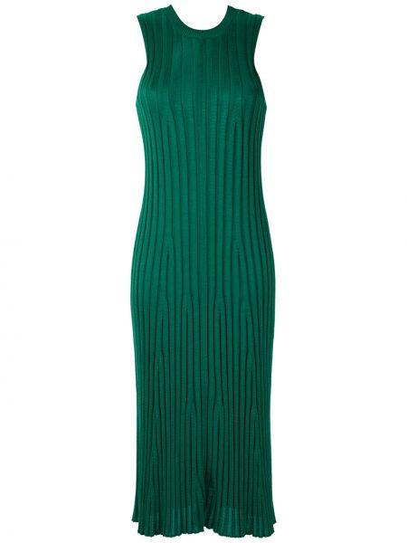 Платье миди в рубчик с рукавами Osklen