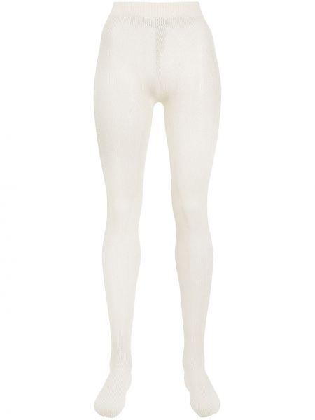 Rajstopy bawełniane - białe Gucci