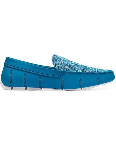 Лоферы классические - синие Swims