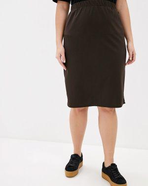 Юбка - коричневая Darissa Fashion