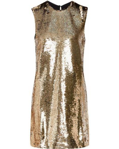 Вечернее платье мини с пайетками Maje