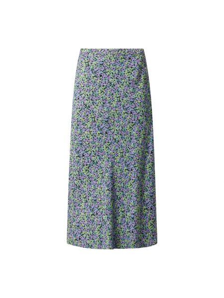Fioletowa długa spódnica z wiskozy Moves