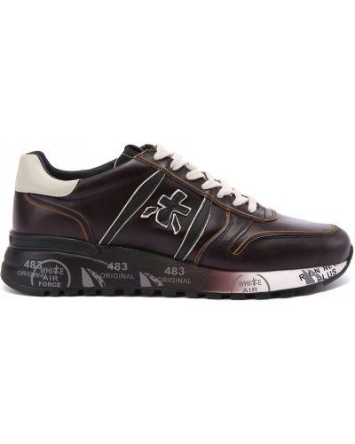Черные резиновые кроссовки Premiata