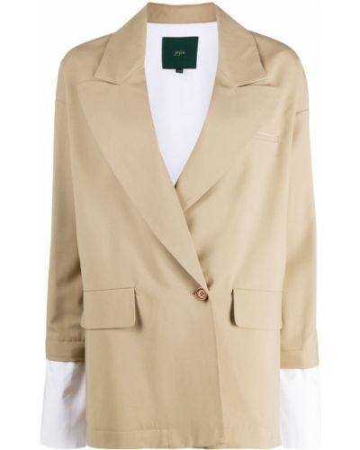 Прямой шерстяной пиджак на пуговицах Jejia