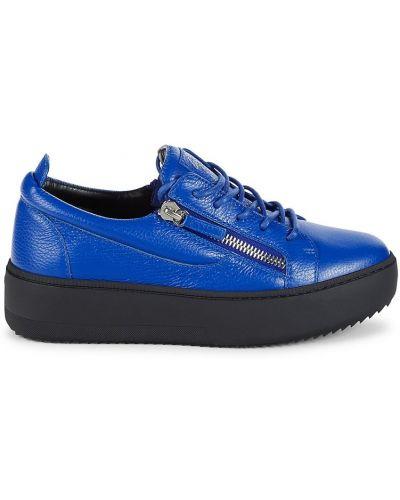 Buty sportowe skorzane Giuseppe Zanotti