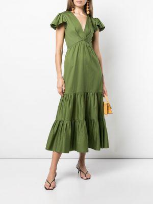 Zielona sukienka mini bawełniana Sachin & Babi