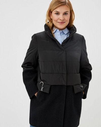 Утепленная куртка черная осенняя Kr