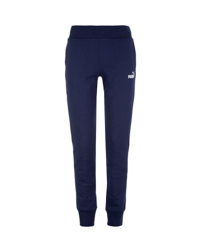 Спортивные брюки с карманами синие Puma