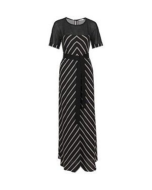 Хлопковое черное повседневное платье Vuall