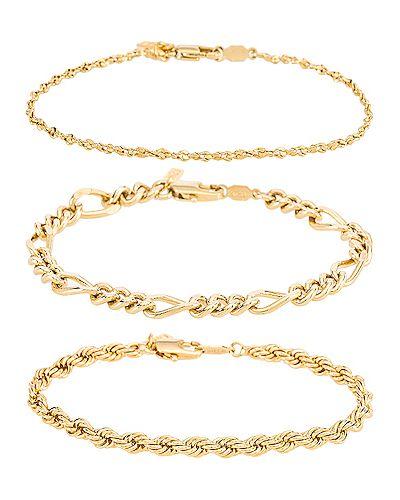 Zestaw do manicure złoto metal Natalie B Jewelry