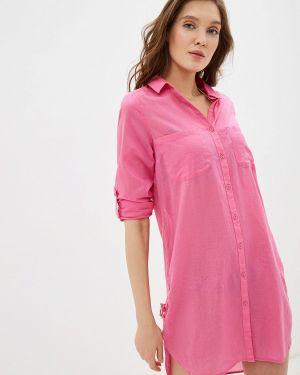 Розовое платье Marks & Spencer