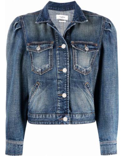 Хлопковая укороченная джинсовая куртка классическая Isabel Marant étoile