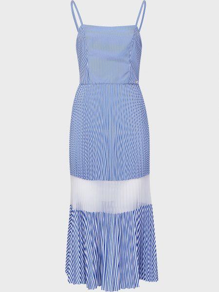 Платье на молнии - голубое Armani Exchange