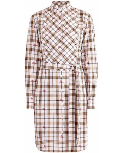 Платье мини на пуговицах платье-рубашка Burberry