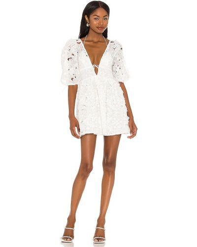Платье мини - белое For Love & Lemons